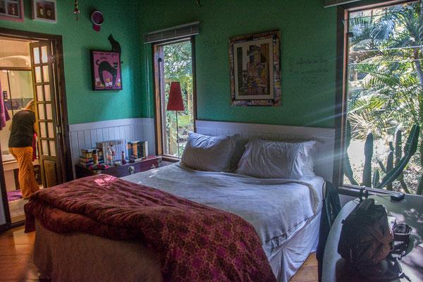 Unser luxuriöses Schlafzimmer