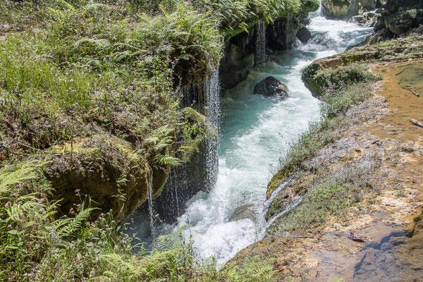 Der Fluss verschwindet in der Unterwelt, Semuc Champey