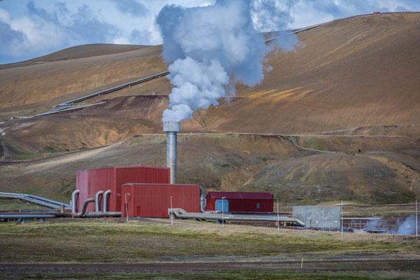 Geothermisches Kraftwerk Kröflustöð
