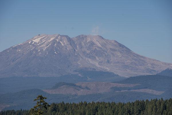 Der Berg von Süden aus gesehen
