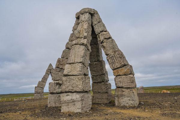 Arctic Henge Monument, bei Raufarhöfn