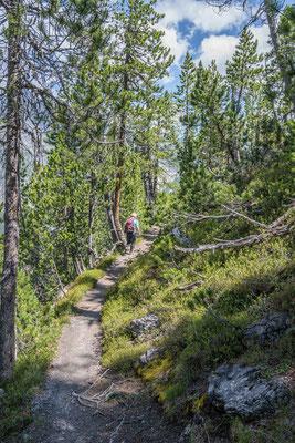 Abstieg nach Il Fuorn