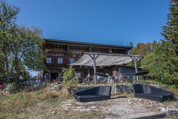 Restaurant La Barilette unterhalb des La Dole