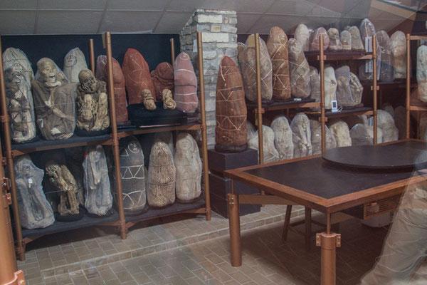 Mumien von der Laguna de los Condores (Museum Leymebamba)
