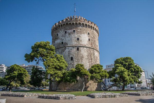 Der weisse Turm in Thessaloniki