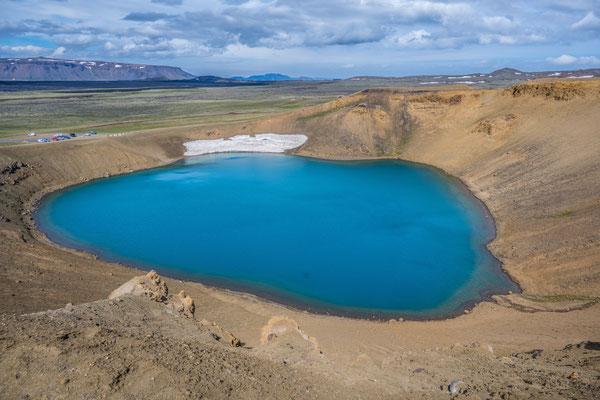Vulkansee Krafla