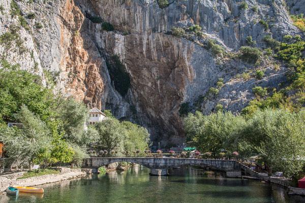 Quelle des Vrelo in Blagaj, Bosnien und Herzegowina