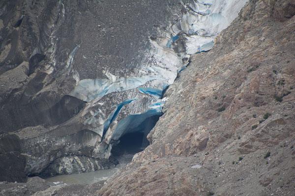 Gletscher Tor des Salmon Glaciers