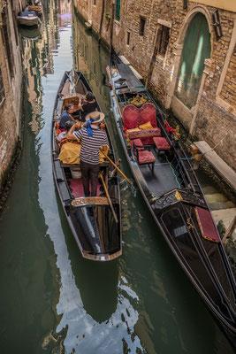 An den Kanälen von Venedig
