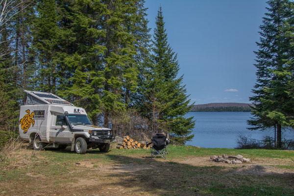 Einer unserer schönsten Campingspots bis jetzt