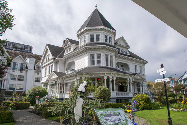 Altes viktorianisches Hotel