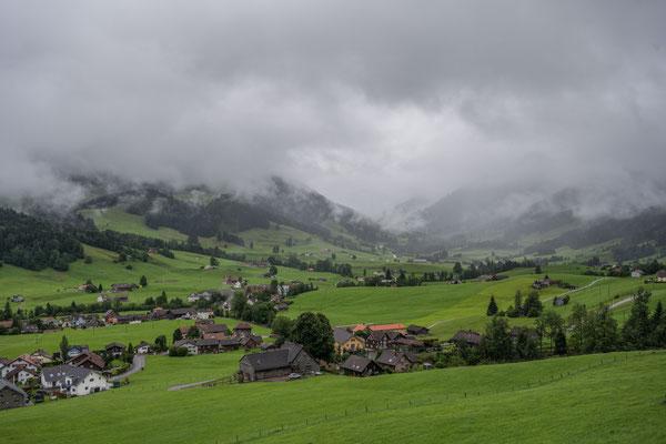 Hügellandschaft im Appenzellerland