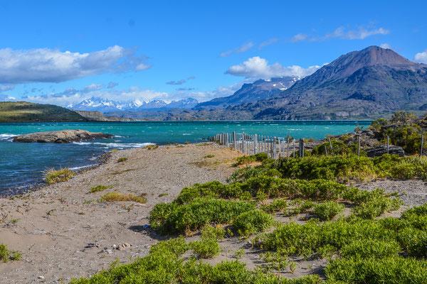 Lago General Carrera, der grösste See Chiles