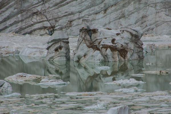Eisberge in Sicht
