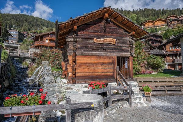 Wassermühle in Grimentz