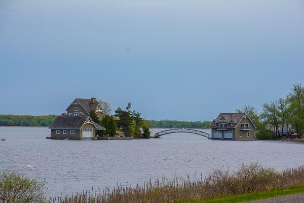 1000 Isles NP am St. Lorenzstrom