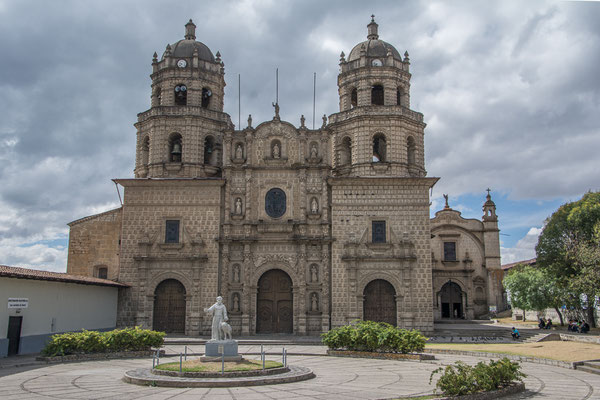 Die Kathedrale von Cajamarca