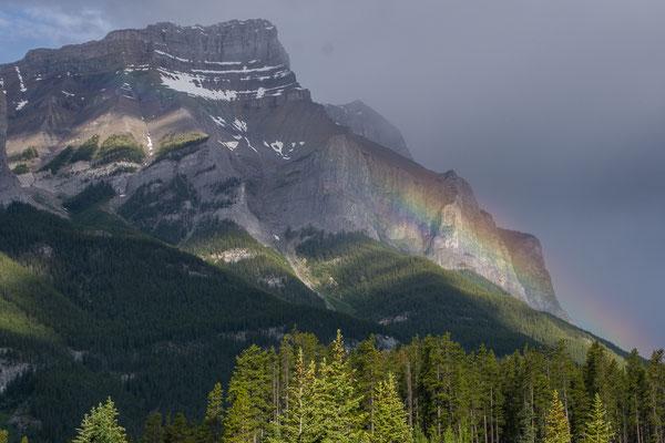 Morgenstimmung auf dem Weg nach Banff