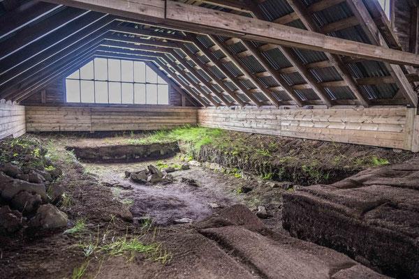 Vikinger Langhaus bei Stöng