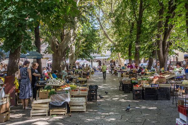 MArkt in Trebinje,  Bosnien und Herzegowina