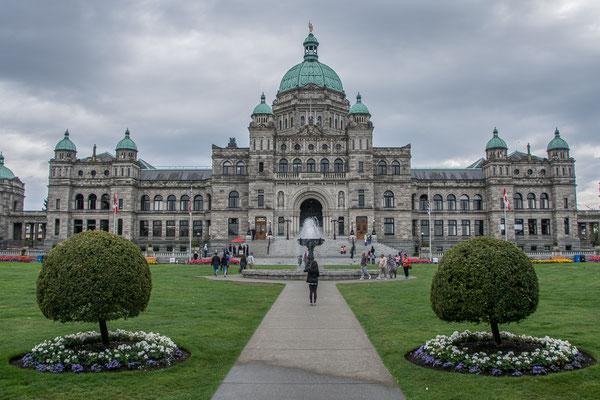 Parlamentsgebäude, DAS Wahrzeichen Victorias