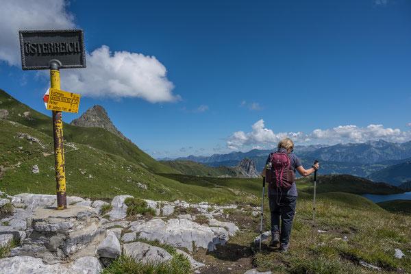 An der Grenze nach Österreich