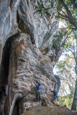 Kletterparadies in der Nähe der Gruta Lapinha