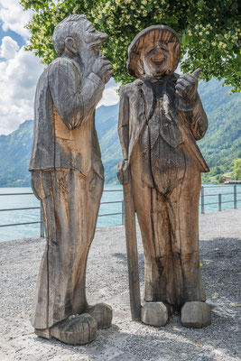 Holzskulpturen in Brienz