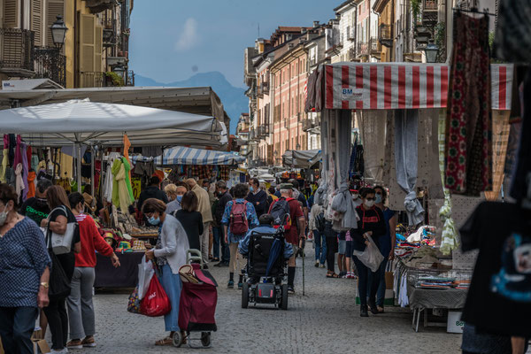 Markttag in Cuneo