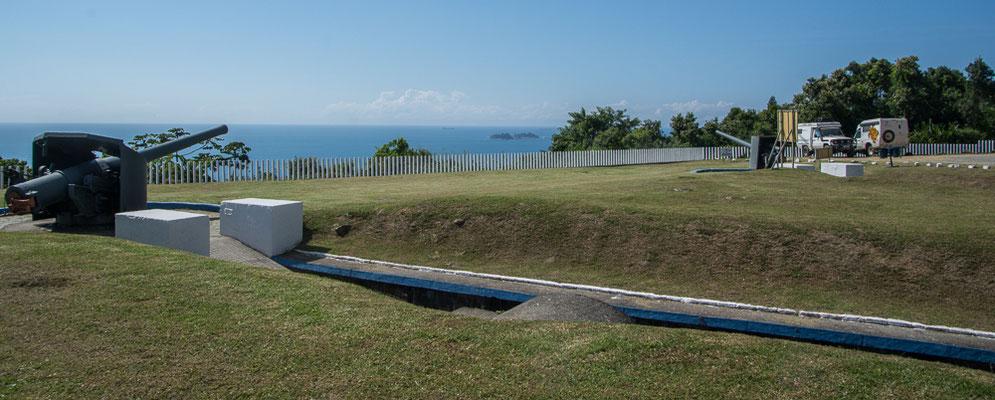 Das Forte Marechal Luz beschützte die Bucht von San Francisco
