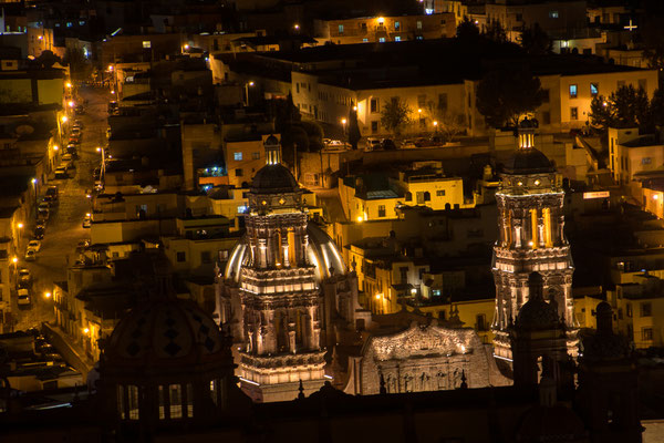 Zacatecas, by night