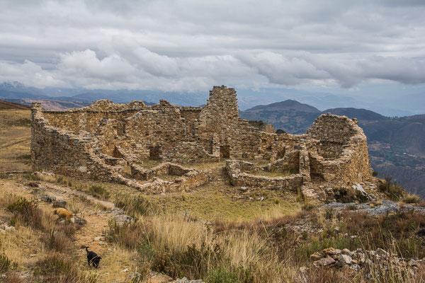 "In den Ruinen von Huamachuco, Sektor ""Las Monjas"""