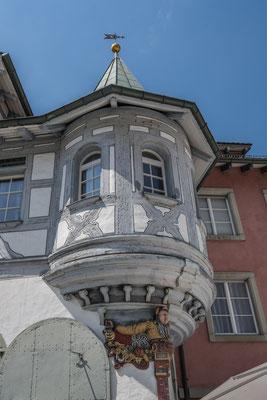 Typischer Erker in St. Gallen