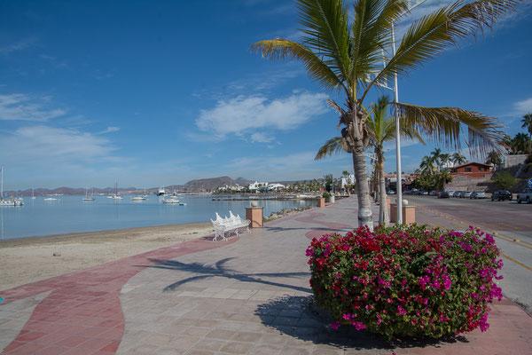 Am Malecon von La Paz