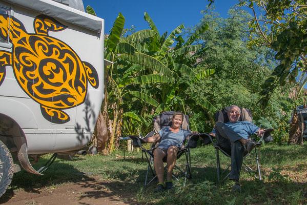 Relaxen im schönen Camping in Mulege