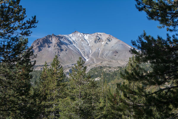 Lassen Peak, der höchste Berg/Vulkan im Park