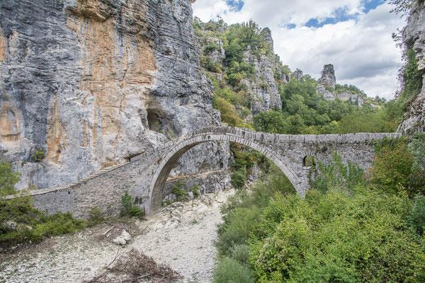 Kokkoros Brücke,  Pindov National Park