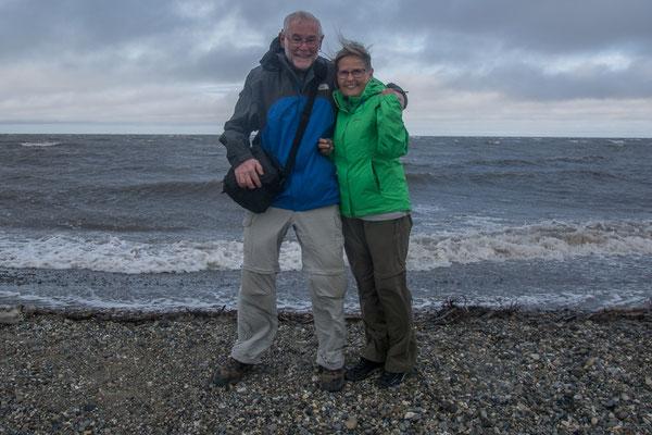 Am Polarmeer, dem nördlichsten Punkt unserer Reise