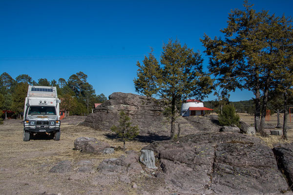 Camping im Parque Natural Mexiquillo