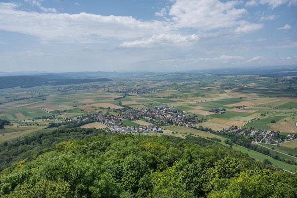 Blick ins Schauffhauser Weinland
