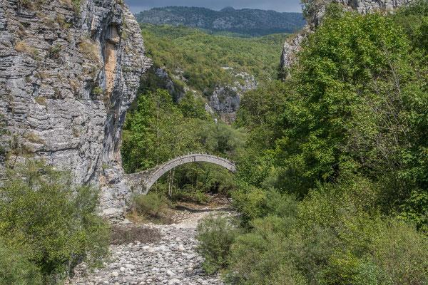 Kokkoros Brücke Pindov National Park