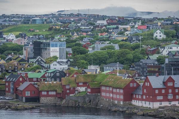 Zwischenhalt in Tórshavn, Färöer Inseln