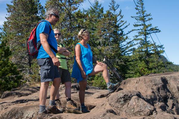 Wanderung zum Ripple Rock