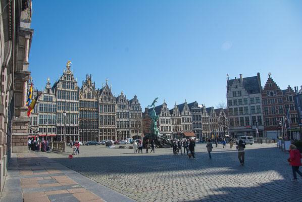 Am Grote Markt, mitten in der Altstadt