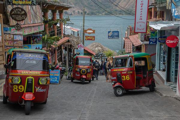 San Pedro, Mototaxis