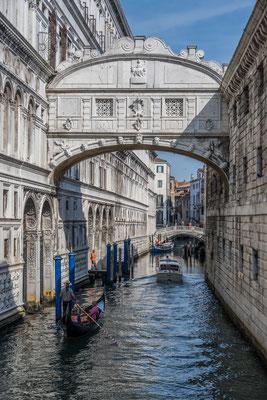 Seuzerbrücke am Dogenpalast