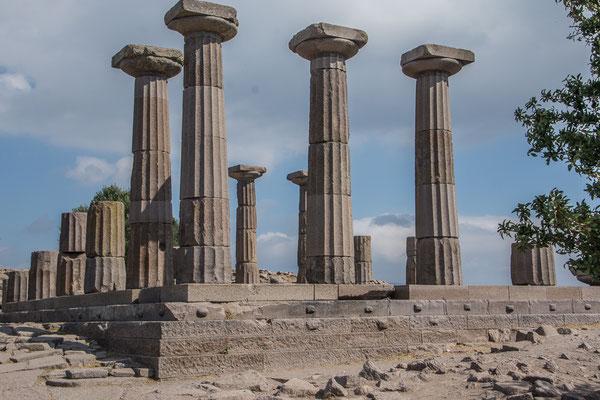 Die Ruinen von Assos