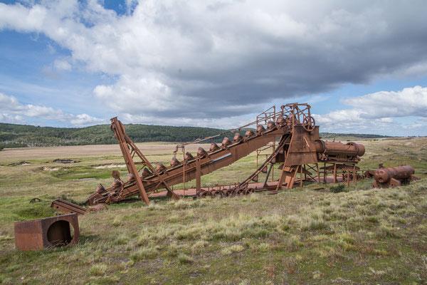 Überreste einer vergangenen Goldgräberstimmung