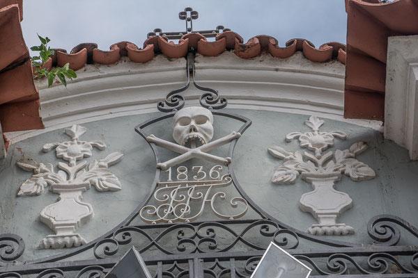 Sao Joao do Rei, Eingang zum Friedhof