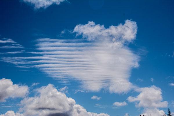 Spannende Wolkenbilder